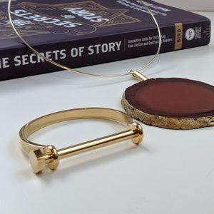 Women's Gold Tone Bracelet